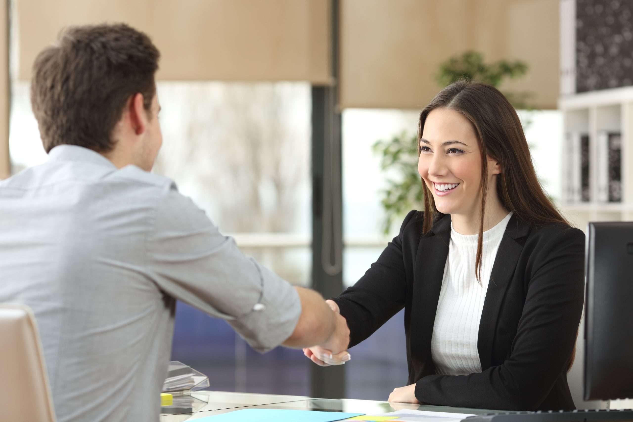 An entrepreneur applies for an SBA loan for her startup venture.