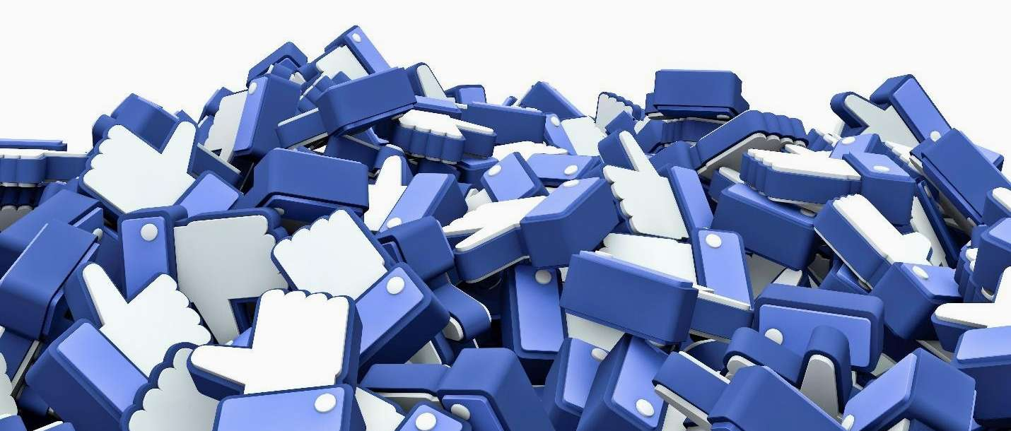 A pile of thumbs up buttons