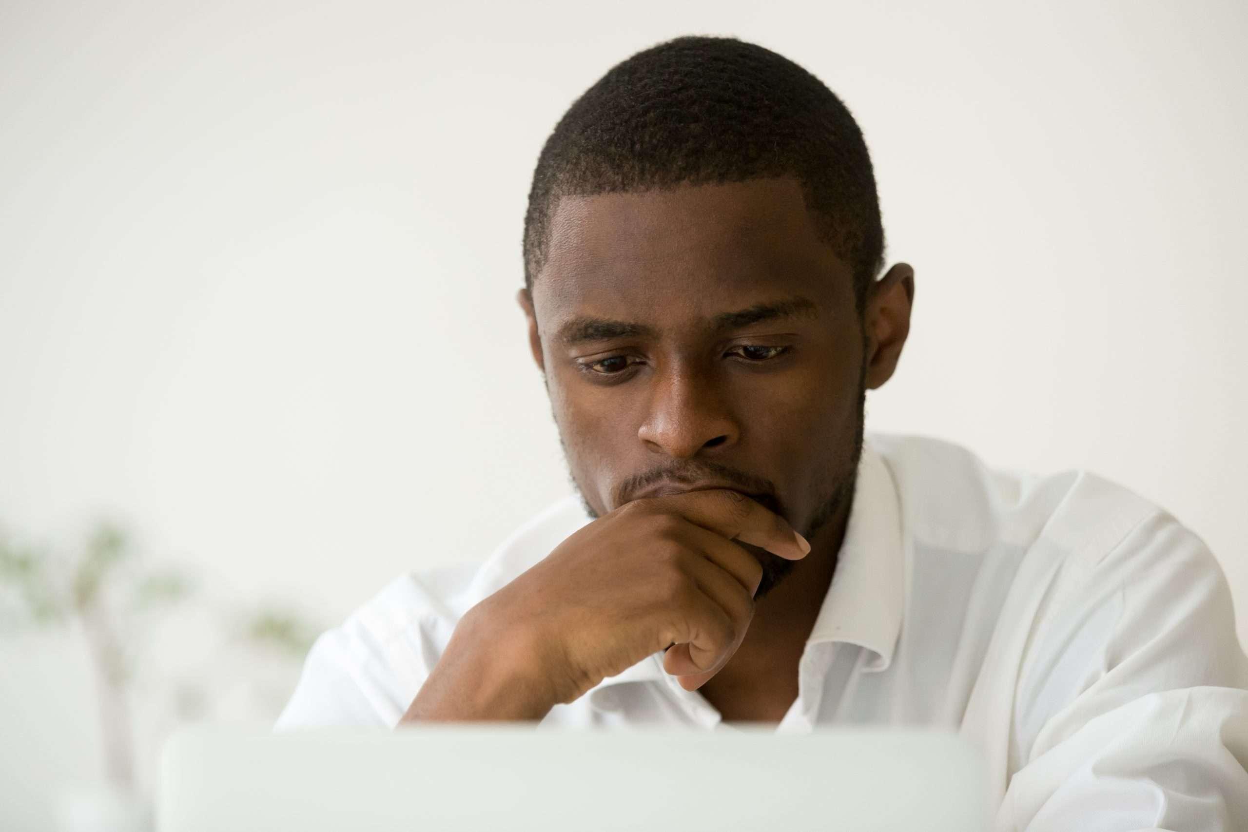 A manager prepares to respond to web reviews